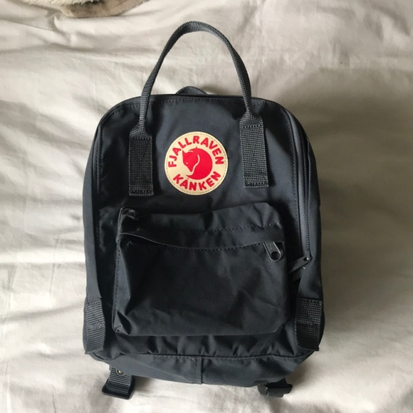 fjallraven kanken mini backpack graphite